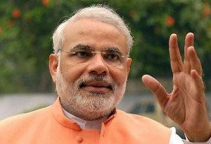 """CM Narendra Modi's new mantra : """" toilets first and temples later"""""""